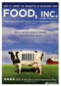 Food Inc. Documentary Movie Guide: Student Video Worksheet and Answer Key