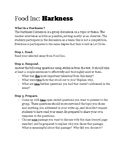Food Inc Literature Circle / Harkness HANDOUT