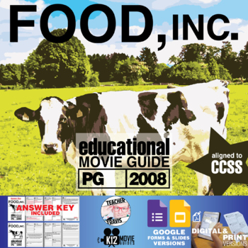 Food, Inc. Movie Viewing Guide (PG - 2008)