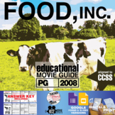 Food, Inc. Movie Guide | Questions | Worksheet | Google Form (PG - 2008)