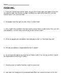 Food Inc. Questions