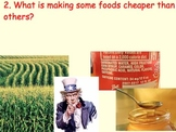 Food Industry / Health - Prices, Economics, Diabetes - Lessons, Video Info.