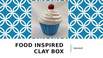 Food Inspired Clay Box