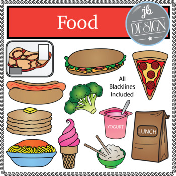 Food (JB Design Clip Art for Personal or Commercial Use)