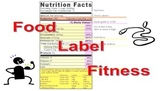 Food Label Fitness Orienteering
