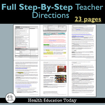 food label reading lesson free is this product healthy tpt