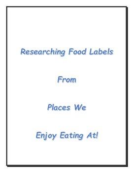 QR Codes Food Labels