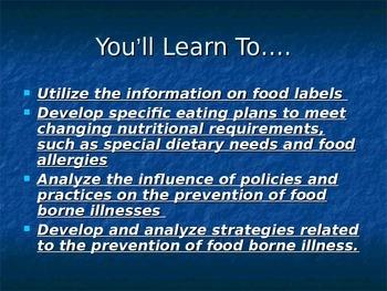 Food Labels PPT