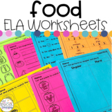 Food Language Arts Printables for Special Education