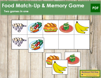 Food Match-Up and Memory