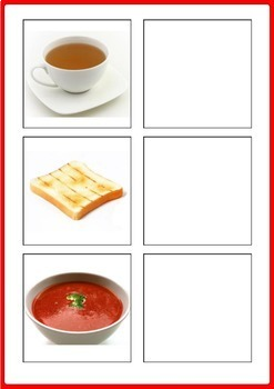 Food Matching Activity