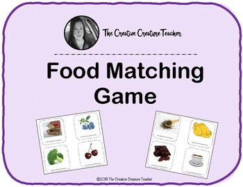 Food Matching Game