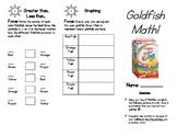 Food Math: Goldfish Math!