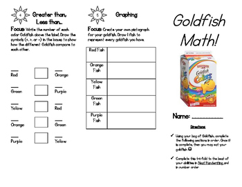 Food Math: Goldfish Math!