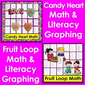 Food Math & Literacy Integration for K/1 BUNDLE VALUE