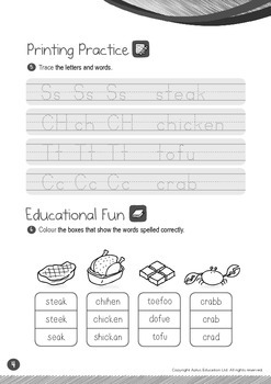 Food - Meat and Alternatives (I): Blend FL - Kindergarten, K2 (4 years old)