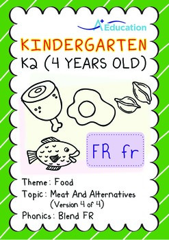 Food - Meat and Alternatives (IV): Blend FR - Kindergarten, K2 (4 years old)