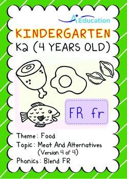 Food - Meat and Alternatives (IV): Blend FR - Kindergarten