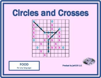Food Mega Connect 4 game