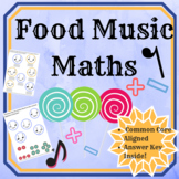 Food Music Maths: Ties, Rests and Notes Workbook