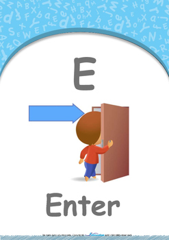 Food - My Favorite : Letter E : Enter - Nursery (2 years old)