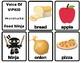 Food Ninja- Voice Of VIPKID Flash Cards & Star Rewards
