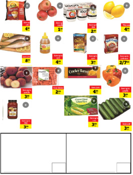 Food Nourriture Grocery List 3 Core French
