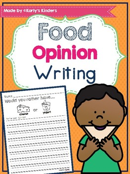 Food Opinion Writing