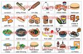 Food PECs PEC symbols 144 symbol lot Life skills special e
