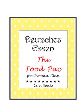The Food * Pac For German Class