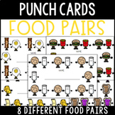Food Pair Punch Cards