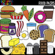 Food Pairs Clipart {Scrappin Doodles Clipart}