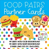 Food Pairs Partner Matching Cards