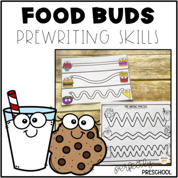 Food Pairs Prewriting Skills Freebie