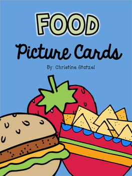 Food Picture Cards