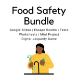 Food Safety BUNDLE - FCS, Culinary, Hospitality, Food, FACS, Home Ec