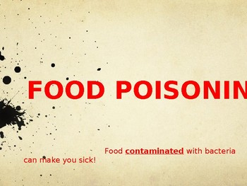 Food Poisoning PowerPoint