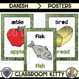 Food Posters : Danish / English