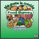 Food Preferences Class Survey - Una encuesta de tus prefer