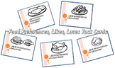 Food Preferences, Likes, Loves Q's Task Cards