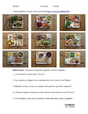 Spanish Food Preferences Worksheet School Lunches Around t
