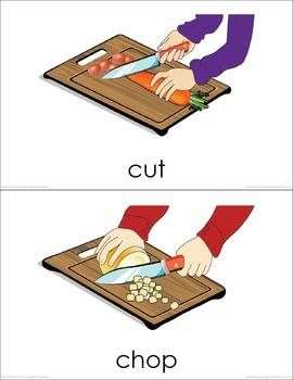 Food Preparation BUNDLE (set I, II) Picture Flashcards