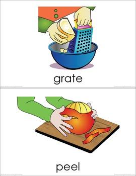 Food Preparation (set I) Picture Flashcards