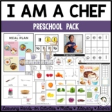 "Food Preschool Pack - ""I am a Chef"""