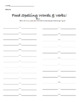 Food Project 150pts - Spanish