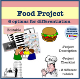 Spanish Food Comida Project