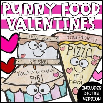 Food Pun Valentines - Kindness Notes & Valentines