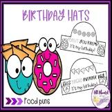 Food Puns Birthday Hats