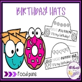 Food Puns Birthday Hats