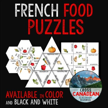 Food Puzzles in French!